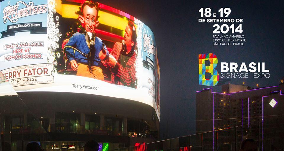 Mundo digital se reúne no Brasil Signage Expo