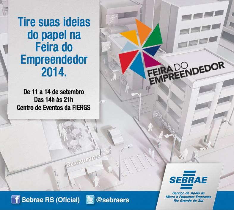 Começa hoje a Feira do Empreendedor 2014